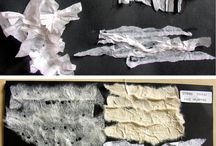 Mixed Media Textile Montage / Ideas and inspiration of things to make using mixed media textile