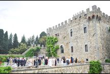 REAL WEDDINGS - Castle wedding in Tuscany  / Real castle wedding in Tuscany overlooking Florence