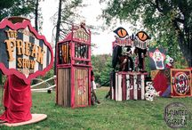 Haunted Circus and Carnival Ideas