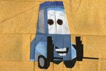 Quilts - Blocks - PP - Traffic