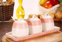 Baharat Setleri / Leziz yemeklerin sırrı baharatlar ise şık mutfakların sırrı baharatlıklardır!