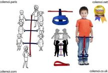 Le Mil'patte / Pour apprendre à se mettre en rang et aussi pratiquer des activités de grande motricité.