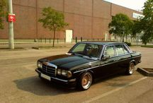 Mercedes W123 Project