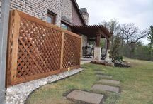 Fences and Gates by Outdoor Signature / Get creative with your fence. Examples below are by Outdoor Signature in Argyle, Texas.