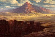 concept art - landscapes
