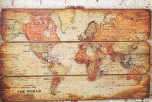 Maps / by Aaron Buckman