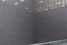perforated wall