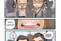 Komik Strip Burhan