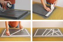 festési módszerek   painting methods