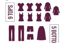 Minimalistisch Kleidung