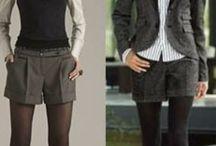 шорты в деловом стиле