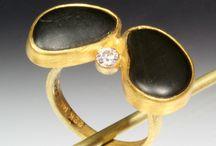 Jewelry / Contemporary jewelry by Sam Shaw, Northeast Harbor, Maine.