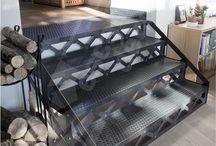 ferronnerie escalier fer