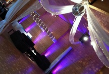 Ceiling sashing and decor / Find some beautiful and dynamic ceiling and venue decoration. Grand Design Weddings can create stunning displays for your weddings. Prices start from £100 for ceiling sashing.