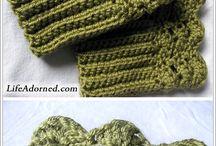 crochet boot topers