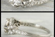 Ring setting / Marquise and pear rings
