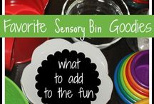 All Seasons-Sensory Play / by Mary-beth Nickerson