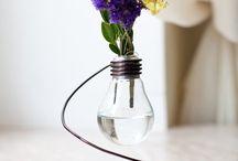 Decoratiuni din becuri reciclate / Idei de decoratiuni DIY din becuri reciclate