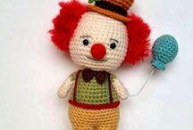 Free Clown Crochet Pattern / by Sharon Ojala