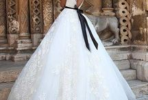 Wedding dresses and hair styles
