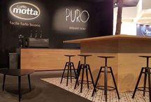 Cibus / la Ceramica Francesco De Maio al  Cibus2016 | Caffè Motta |  Stand G 010, Padiglione 6 | Progetto: Arch. Diego Granese