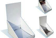 Présentoirs de comptoirs - Modularche / Présentoirs en carton