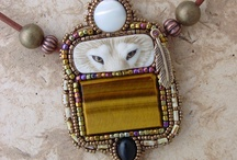 Bead Embroidery: Pendants