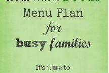 Menu planning  / by Lisa Griffey
