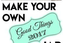 2017 Gratitude Jar and Quotes