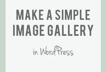 Word Press / Tutorials, blog posts, helpful information about WP