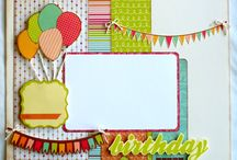 Scrapbook Ideas - Birthday / by Diane Jones