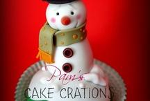 Christmas cupcakes & cakes