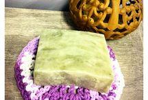 Handmade soaps, lotions, etc