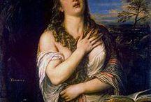 Tizian - Penitent Magdalene