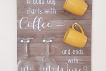 coffee and wine diy