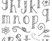 Hand Lettering/Calligraphy