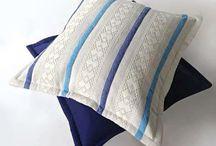 Подушки как искусство / Декоративные интерьерные подушки