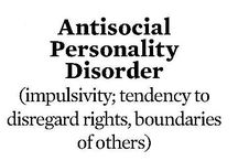 Anti-Social Personality Disorders / by Rachel Foxx
