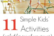 Activities for kids / Having no clue what to do with your kids? Get some inspirations from our board : )