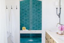 Modern Spanish / I am constantly renovating things, currently I am working on my house which I'm keeping in a modern spanish theme.  I like talavera tiles and large rectangular tiles, oh and blue.