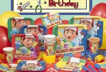 Handy Manny / Handy Manny theme party ideas and supplies