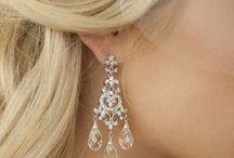 Bridal/Wedding Earrings / Fabulous Crystal Swarvoski, Freash water pearl, art deco, vintage, Silver, Rose Gold, Blush, Earrings