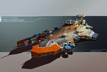 Scifi / spaceships, sci-fi, science fiction art