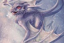 Drachen / Bilder, Bücher, Fantasy