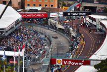 Monaco Grand Prix Pre-Qualifying Races / Excitement in Monte Carlo at the Monaco Grand Prix pre-qualifying races.