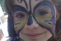 Arcfestés/Face painting