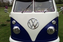 Camper Van Crazeeeeeee / A 1966 classic navy blue and white VW Westphalia features in my work in progress, Boot Camp Bride. I have seen a restored one, without the Porsche engine for Bout £25,000 - all contributions  gratefully received !,