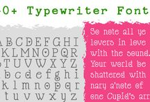 Fonts and Printables