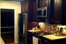 Don & Shannon's Kitchen / Create drama in your kitchen with deep, rich tones
