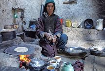 Traditional Cooking in Rural Kitchens / See these old fashioned kitchens and implements.